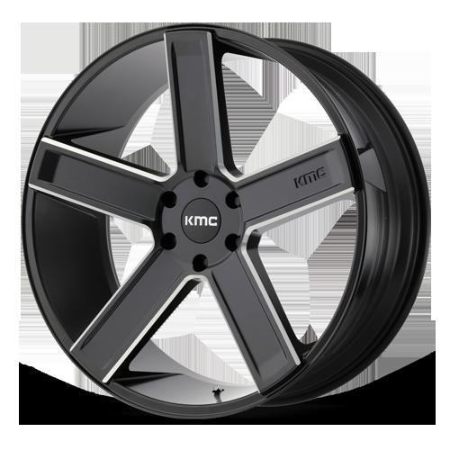 KMC Wheels KM40 Deuce Inspiration 5x115 Bolt Pattern Rims
